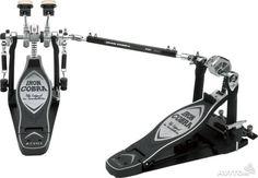 Педаль барабанная сдвоенная левосторонняя TAMA Iron Cobra Left-handed Power Glide, арт.: HP900PSWLN. Производство Тайвань. Куплена в США за 410 долларов + пересылка. Новая, с кейсом.