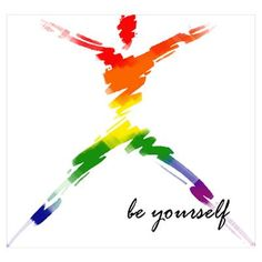 Gay Pride - Be Yourself Poster