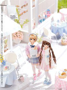 SAHRA'S a la mode:Pink!Pink! by Azone International dolls
