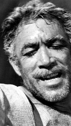 "Anthony Quinn: As ""Zorba The Greek."" I love this film! In fact ALL of Anthony… Hollywood Stars, Classic Hollywood, Old Hollywood, Classic Movie Stars, Classic Movies, Zorba The Greek, Anthony Quinn, Interesting Faces, Great Movies"