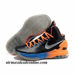Discount Coupons For Nike Zoom KD V Black SilV er Orange Battle shoes Summer. vans basketball shoes