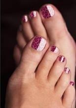 Minx Nails Toes