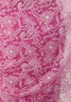 Chikan embroidery