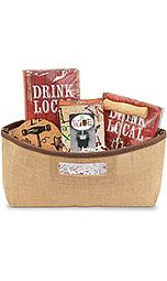Drink Local Jute Bag Gift Set