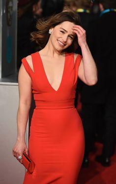 Emilia Clarke – BAFTA Film Awards 2016 in London