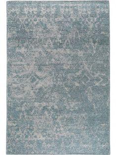 Flachgewebe Teppich Tosca Blau