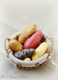 Un dejeuner de soleil: Quelles pommes de terre choisir selon l'usage ? Co... Vegan Kitchen, Small Meals, Exotic Fruit, Salad Dressing Recipes, Food Illustrations, Fruits And Veggies, Food Photography, Food And Drink, Diabetes