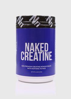 Creatine Monohydrate Powder | Naked Creatine - 2lb