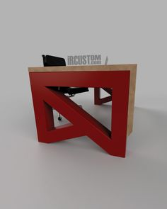 Designed & Fabricated in Illinois by the DiVito brothers. Looking for a One of a Kind Office? Timber Furniture, Table Furniture, Office Table, Table Desk, Modern Desk, Modern Industrial, 2 Brothers, Metal Desks, Metal Art