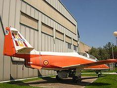 El primer prototipo del Aviojet, actualmente expuesto en el Museo del Aire de Cuatro Vientos.