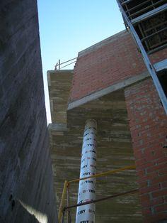 Ejecución de tosco en fachada