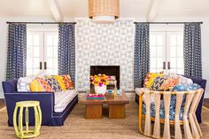 Nothing too crazy here — just 22 bold(ish) design ideas from HGTV Magazine that will subtly spice up your space.