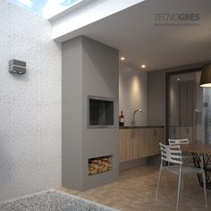 Bbq Grill, Barbecue, Parrilla Exterior, Outdoor Kitchen Design, My Dream Home, My House, House Plans, New Homes, Loft