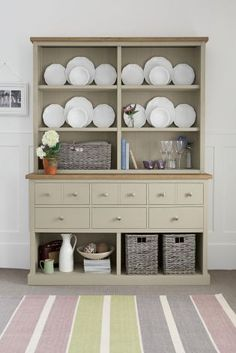 Ultimate storage solutions with the Hartford® Painted Dresser from Next. Perfect for all your kitchen crockery.