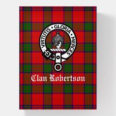 Shop Clan Robertson Crest Badge & Tartan Paperweight created by CelticMuse. Robertson Tartan, Robertson Family, Scottish Clans, Scottish Tartans, Decoration Piece, Business Supplies, Paper Weights, Thoughtful Gifts, Invitation Cards
