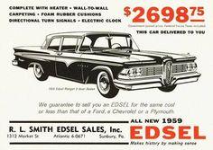 1959 Edsel.