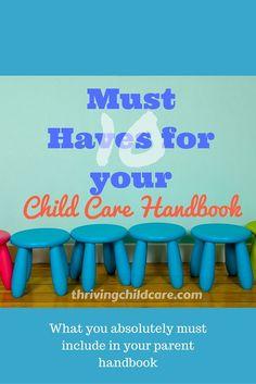 Child Care Center organization using binders.   Organized Child ...