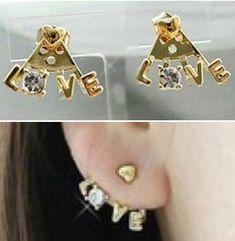 P.S. I Love You More Boutique | Love Earrings | www.psiloveyoumoreboutique.com