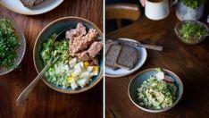 Máte rádi krémovější pomazánky, ale nechcete používat majonézu? Klidně zkuste zralé avokádo, funguje perfektně! :) Grains, Rice, Beef, Ethnic Recipes, Food, Meal, Essen, Hoods, Ox