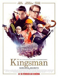 Kingsman : Services secrets #blockbuster#espions