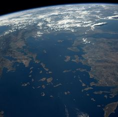 NASA astronaut Reid Wiseman posted this photo of Greece and Turkey to Instagram from the International Space Station on Aug. 17, 2014.