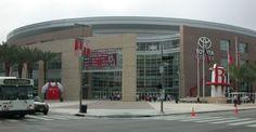 Toyota Center in Houston - All Star game.