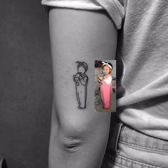 Picture transfer tattoo ideas #beautytatoos