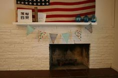 Easy fabric banner