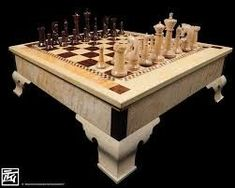 Risultati immagini per chess table plans #WoodworkingProjectsChessboard