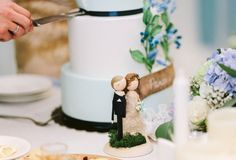 Rustic Wedding Cake Topper/Cake Topper/Wooden by theroomba on Etsy