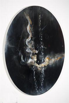 Midnight Cipher, 2013, Oil on board, 800mm x 1200mm
