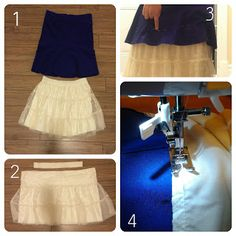 Frida skirt - the making-of. Part I