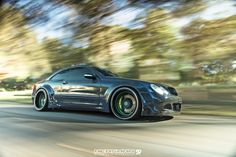 Heasman Steering #Mercedes-Benz CLK55 #AMG by Built To Order  More stunning cars >> http://www.motoringexposure.com/featured-fitment/