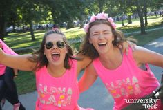 Reliving all the Bid Day feels... | Alpha Gamma Delta | Made by University Tees | www.universitytees.com