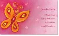 girly Premium Business Cards
