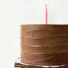 Six-Layer Dark Chocolate Cake with Chocolate Swiss Meringue Buttercream
