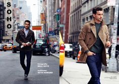 Soho–Captured in the streets of Soho, New York, model Arthur Kulkov connects with photographer Bell Soto, starring in a casual story for Spanish magazine Risbel. Wearing a variety of looks styled by Seth Howard, Arthur hits the streets in trench coats, shawl neck cardigans and other classic menswear essentials. Enjoyed this update?Stay up to date,... [Read More]