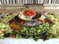 Mont Vista Venue Green salad bar