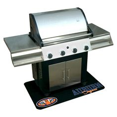 Mr. Bar-B-Q - NCAA - Protective Grill Mat, Auburn University Tigers