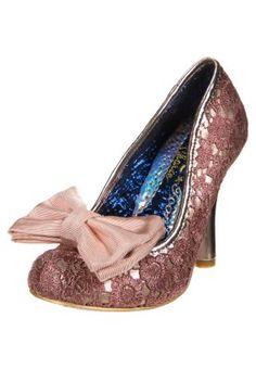 MAL E BOW  - High Heel Pumps - rose/gold