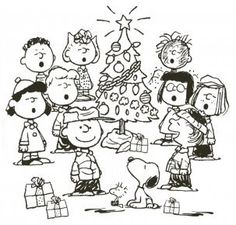 christmas snoopy coloring pages