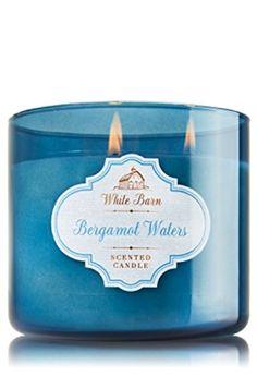 Bath & Body Works White Barn 3-Wick Candle in Bergamot Waters (14.5g/411g) Bath & Body Works http://www.amazon.com/dp/B01AZZ0PBI/ref=cm_sw_r_pi_dp_k3G3wb114TTN5