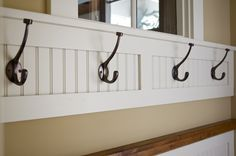 Hooks to hang items