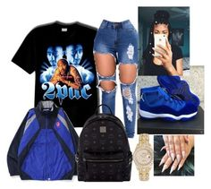 A fashion look from December 2017 featuring tee-shirt, distressed jeans and diamond jewelry. Browse and shop related looks. Nike Outfits, Swag Outfits For Girls, Cute Comfy Outfits, Teenage Girl Outfits, Cute Outfits For School, Chill Outfits, Cute Casual Outfits, Teen Fashion Outfits, Teenager Outfits