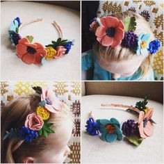 F L O W E R  C R O W N  C U S T O M  O R D E R for your bridesmaids, flowergirl, meadow fairy, dressing up, Titania