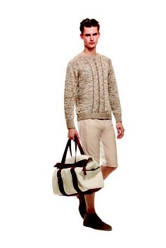 Bally.  Bag and sweater/jumper... mostly bag.