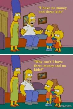 Awesome and funny photos and gifs from The Simpsons. Funny quotes and scenes from The Simpsons episodes over the years. The Simpsons, Simpsons Quotes, Simpsons Cartoon, Cartoon Humor, Simpsons Characters, Best Tv Shows, Favorite Tv Shows, Homer Simpson Quotes, Funny Jokes
