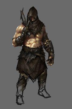 """ArtStation - Orc Reaver, Mike """"Daarken"""" Lim"""