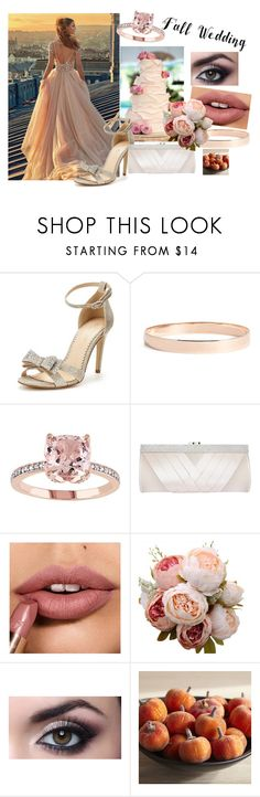 """Fall wedding"" by shaniq123 ❤ liked on Polyvore featuring GALA, Carvela, Lana Jewelry, GCGme and Pier 1 Imports"