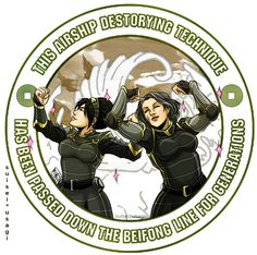 BEIFONG FAMILY TRADITION  by ~suiseiusagi on DeviantART // Going on two boards because it's perfect in so many ways.